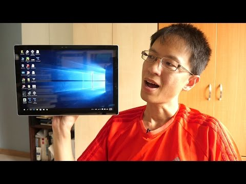 Artist Review: Surface Pro 4 (i5 dual 2.4Ghz + 8GB RAM)