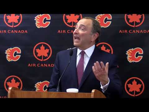 Gary Bettman talks new arena, expansion and Olympics in Calgary