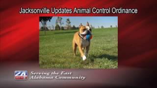 Updates on Jacksonville's Animal Control Ordinance