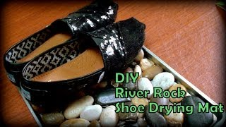 Dollar Tree DIY River Rocks Shoe Mat - YouTube