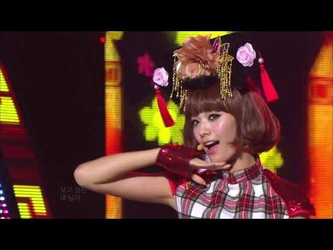 【TVPP】Orange Caramel – Shanghai Romance, 오렌지 캬라멜 – 샹하이 로맨스 @ Show Music Core Live
