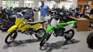 10. Suzuki or Kawasaki what Dirt bike should we get?