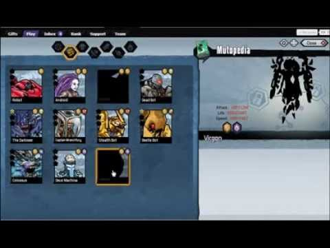 Mutants: Genetic Gladiators. Combinaciones parte 1 +  DARKSEER . Jugando con Damty (parte 8)
