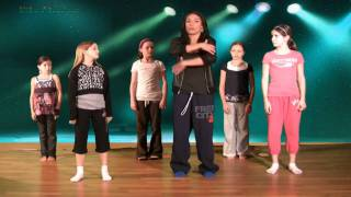 Hip Hop Dance Lesson Online with Caroline - Ball, Change, Step Hip Hop Dancing Lessons - YouTube