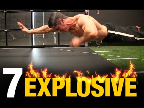 7 Most Explosive Home Exercises (BODYWEIGHT!)