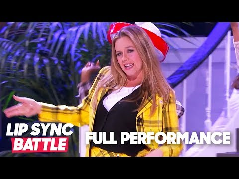 "Alicia Silverstone Performs ""Cryin'"" & ""Fancy""   Lip Sync Battle"