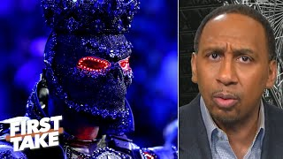 Video Stephen A. reacts to Deontay Wilder blaming his costume for loss to Tyson Fury | First Take download in MP3, 3GP, MP4, WEBM, AVI, FLV January 2017