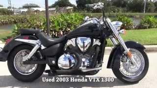 10. Used 2003 Honda VTX 1300