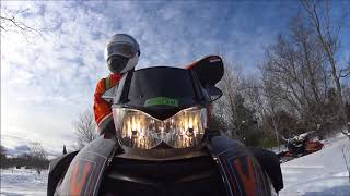 8. 2016 Arctic Cat Crosstrek 9000 Break-in