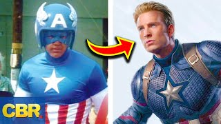 Video The Evolution Of Marvel's Avengers Costumes MP3, 3GP, MP4, WEBM, AVI, FLV Oktober 2018