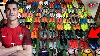 World's Craziest Nike Boot Collection! CR7 & Ronaldo Mercurial Masters!