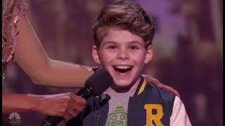 Merrick Hanna: Boy Dancer Turns Into a  ROBOT On LIVE Stage! America's Got Talent 2017