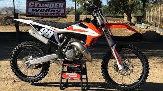 7. First Ride 2019 KTM 125SX 2 Stroke - Motocross Action Magazine