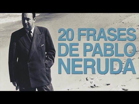 Poemas cortos - 20 Frases de Pablo Neruda que te llegarán al corazón