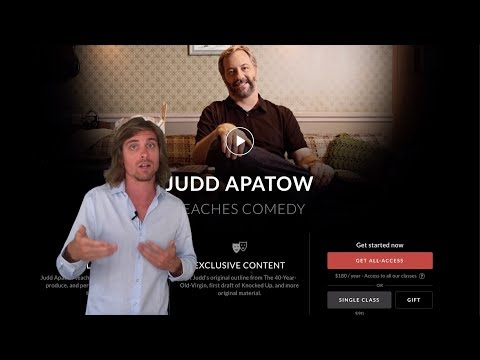 Masterclass Review - Judd Apatow Teaches Comedy - Is It Worth It?