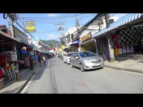 Koh Samui, Lamai beach road