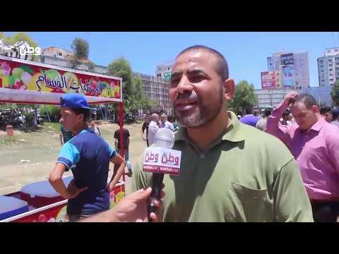 غزة: مظاهرة  السرايا  تنتهي بالقمع .. والمشاركون يؤكدون عبر وطن استمرارهم بالحراك -