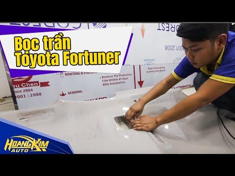 Bọc Trần Toyota Fortuner