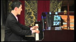 Andrew Brownell plays Ravel's 'Le Tombeau de Couperin' at a concert at St Mary's Perivale on May 21st 2014. St Mary's Perivale...