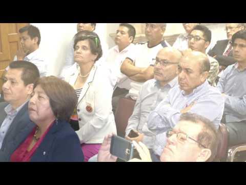 CONFERENCIA RETOS DE LAS REDES REGIONALES DE FIBRA OPTICA EN EL PERU