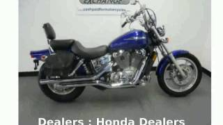 7. 2004 Honda Shadow Spirit Walkaround, Specification
