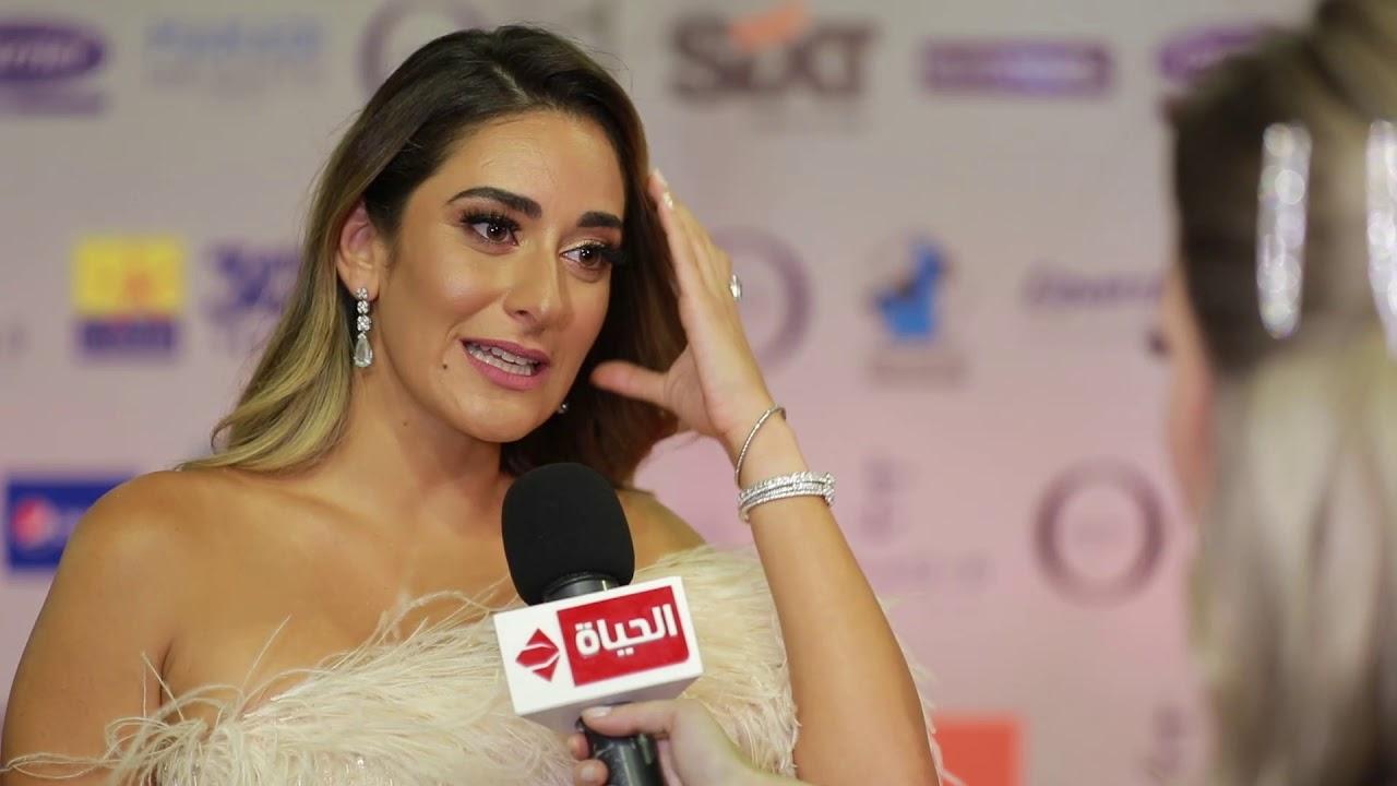 """عين - الفنانة أمينة خليل من مهرجان الجونة: تكشف عند دورها في """"لص بغداد"""" وتقول دا فيلم جديد من نوعه"""