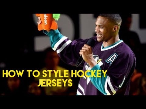 How to Style Hockey Jersey's