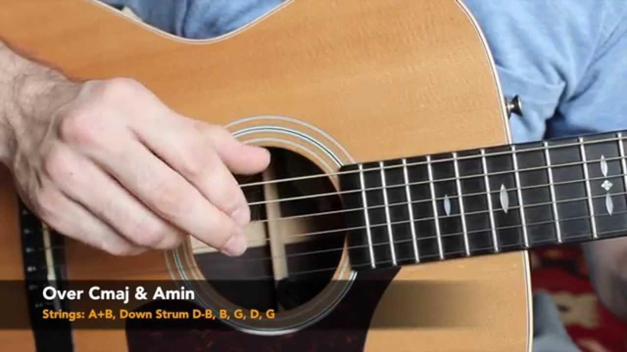 Acoustic Finger Style Guitar Lesson – Five Folk Finger Picking Patterns