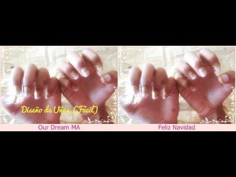Diseños de uñas - 4#Diseño De Uñas (Facil)