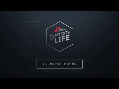 Doctors Without Borders, and Playlists For Life Commercial (2016) (Television Commercial)