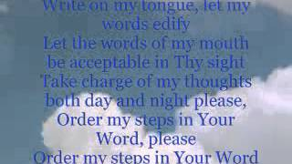ORDER MY STEPS IN YOUR WORD - YouTube.flv Video