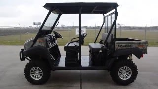 5. 2015 Kawasaki Mule 4010 Trans 4X4 Camo Includes Top Windshield Lift and More!