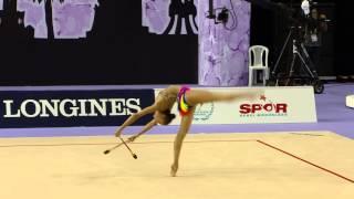 Margarita Mamun (RUS) - Clubs Final - 2014 World Rhythmic Gymnastics Championships
