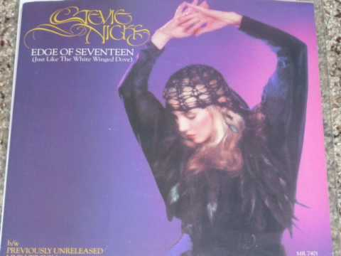 Stevie Nicks -  Edge Of Seventeen (Live) 45 rpm version