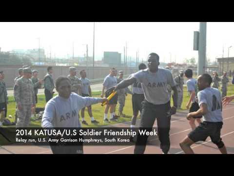 IN FOCUS – 2014 KATUSA Friendship Week – Relay run – Camp Humphreys – 17 April 2014