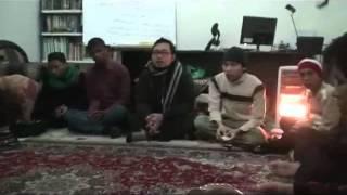 Saturday, February 4 2012. Peringatan Maulid Nabi Muhammad SAW di kantor PCI NU Lebanon.