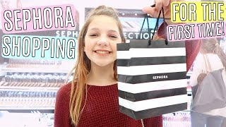Video MakeUp Shopping at Sephora for the First Time MP3, 3GP, MP4, WEBM, AVI, FLV Juli 2018