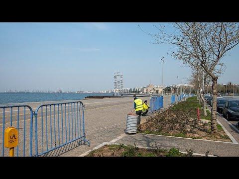 Θεσσαλονίκη: Κλείνει η Νέα Παραλία μετά τις απαράδεκτες εικόνες με δεκάδες πολίτες να κόβουν βόλτ…