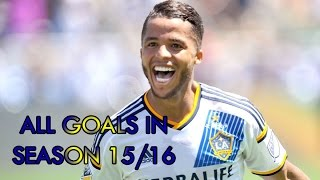All Goals in the season 2015-16 of Giovani Dos Santos in LA Galaxy. Music: Electro-Light & Jordan Kelvin James - Wait For You...