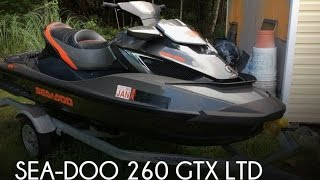 9. [UNAVAILABLE] Used 2013 Sea-Doo 260 GTX LTD in Pensacola, Florida