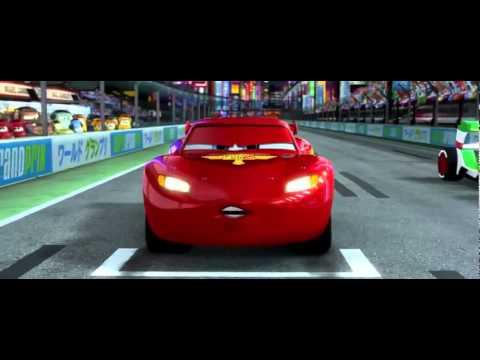 Cars 2 Japan Race.