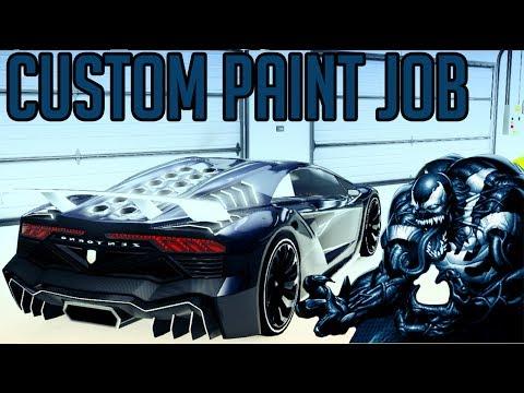 GTA 5 Custom Paint Job, Great GTA 5 Online Rare Paint Job