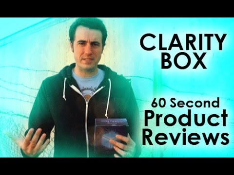Clarity Box 60 Second Review