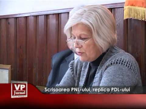 Scrisoarea PNL-ului, replica PDL-ului