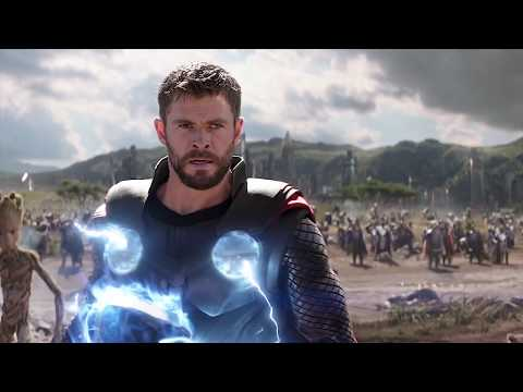 Thor Arrives In Wakanda Scene   Avengers Infinity War 2018 Movie CLIP 4K