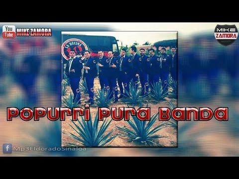 La Decima Banda - Popurri Pura Banda pa Bailar (En Vivo 2015)
