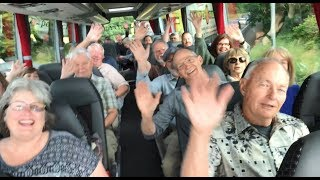 """Our Rick Steves' Europe Tours Best of Ireland in 14 Days Tour is wrapping up. I took a moment on our bus to let each person in our group share their magic moment. Here are 28 memories in two minutes. Thanks to our great driver, Pascal, and our wonderful guide, Declan, for a smooth and unforgettable experience. Sláinte!(This is Day 75 of my """"100 Days in Europe"""" series. As I travel with Rick Steves' Europe Tours, research my guidebooks, and make new TV shows, I'm reporting on my experiences across Europe. Still to come: England, Scotland, Germany, Switzerland, and more. Follow along at http://www.ricksteves.com/blog.)"""