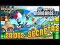 New Super Mario Bros U Todas As Sa das Secretas