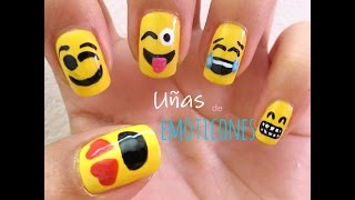 Uñas de Emoticones - YouTube