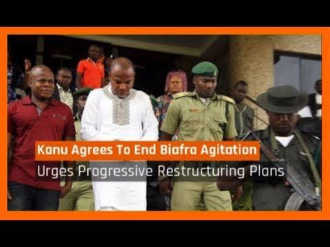 Nigeria News Today: Nnamdi Kanu Finally Agrees To End Biafra Agitation (25/08/2017)